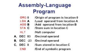 Assembly Language Program