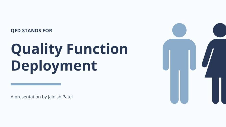 Quality Function Deployment | QFD
